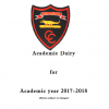 Academic Diary for 2017-18